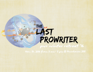 The Last ProWriter
