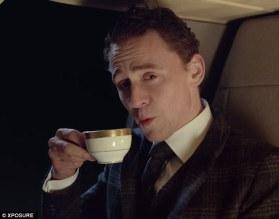 Villain drinking tea
