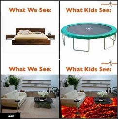 what kids see